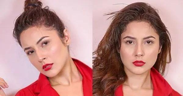 Bigg Boss 13's Shehnaaz Gill's red-hot look sets the temperatures soaring – view pics