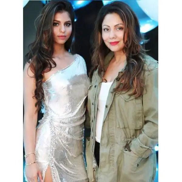 Suhana Khan and Gauri Khan