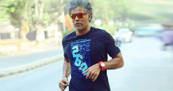 Milind Soman goes for a 5 km run after recovering from COVID-19 — watch video