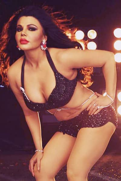 Rakhi Sawant Looking Bold In Black In This Picture