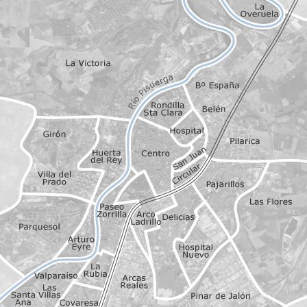 Mapa de Valladolid habitaciones en alquiler  idealista