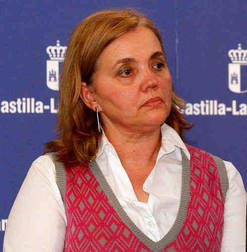 Teresa Novillo, directora del Instituto de la Mujer en Castilla-La Mancha  ha presentado los datos de violencia machista de 2011