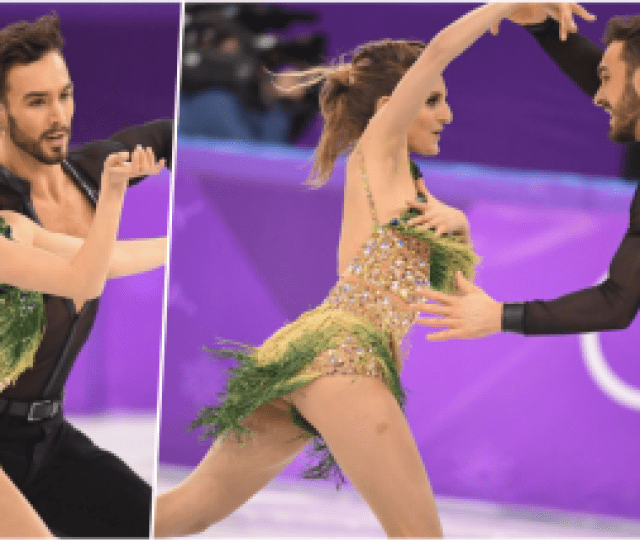 Gabriella Papadakis Nip Slip In Winter Olympics  Video French Ice Dancer Suffers Shocking