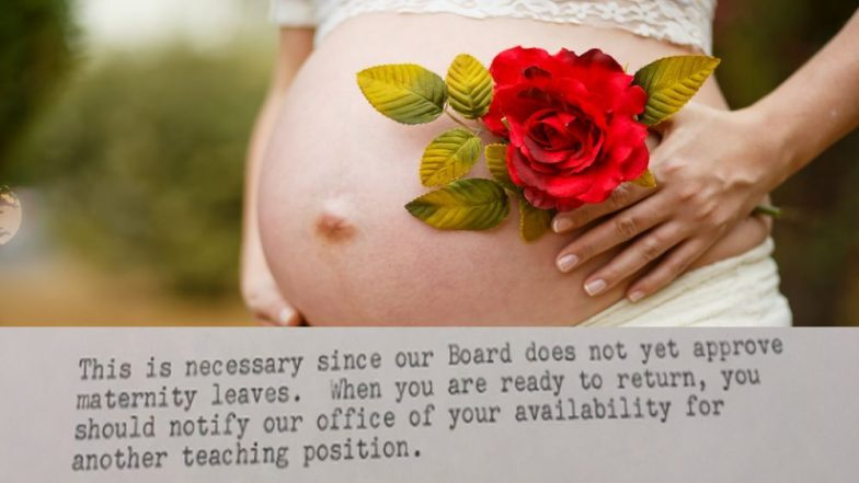 A Viral 1969 Termination Letter Shows How Pregnant Mothers Were ...