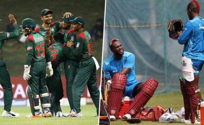 Bangladesh Vs West Indies Odi Series 2018 Schedule Time