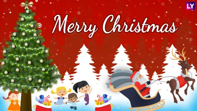 Christmas 2018 Wishes & Greetings: Xmas WhatsApp Photo Messages, Quotes and GIF Images to Wish Merry Christmas Online