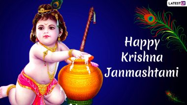 Janmashtami 2020 Images Lord Krishna Hd Wallpapers For Free Download Online Wish Happy Gokulashtami With Kanha Photos Gif Greetings Whatsapp Stickers Latestly