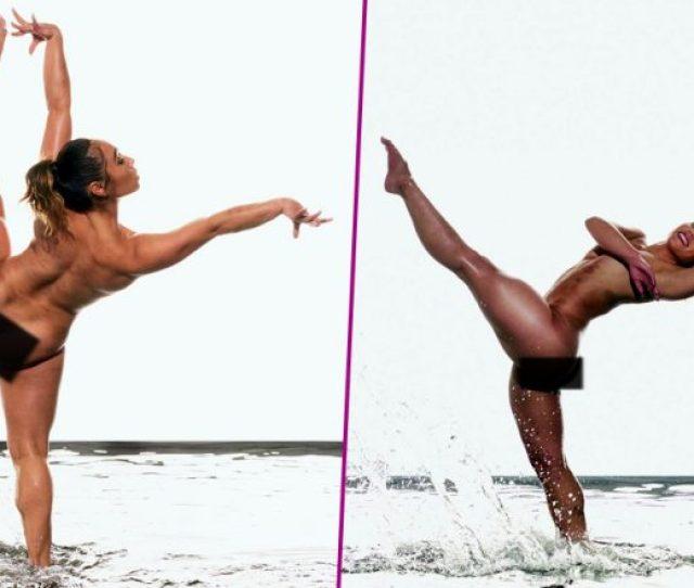 Katelyn Ohashi Goes Nude For Photoshoot Flaunts Her Bruises And