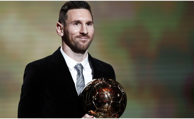 Ballon D Or 2019 Awards Lionel Messi Wins Record Sixth