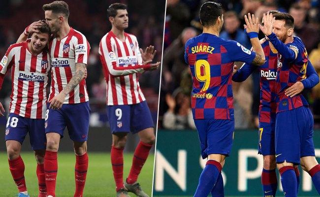 Fc Barcelona Vs Atletico Madrid Head To Head Record Ahead