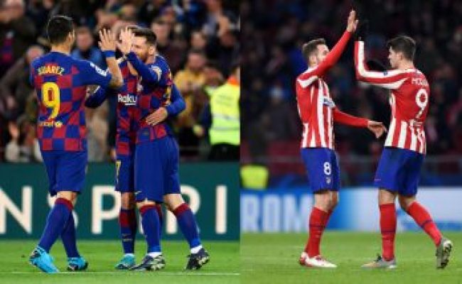 Real Madrid Vs Atletico Madrid Head To Head Record Ahead