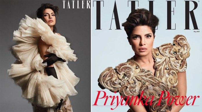 Priyanka Chopra Packs a Fashionable Punch on Tatler! | 👗 LatestLY