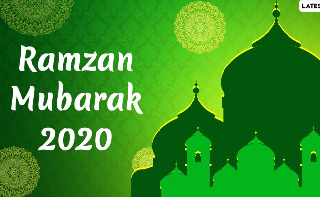 Ramzan Mubarak 2020 Wishes Greetings Whatsapp Messages