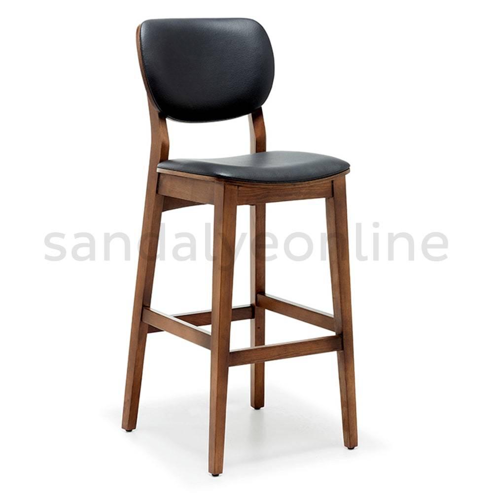 Efor Boyali Siyah Yildiz Ayakli Bar Sandalyesi Bar Sandalyesi Modelleri