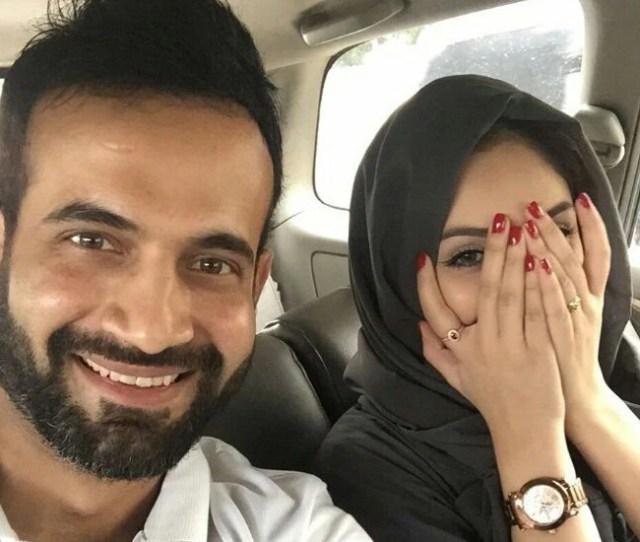 Irrfan Pathan S Selfie With Wife Safa Baig