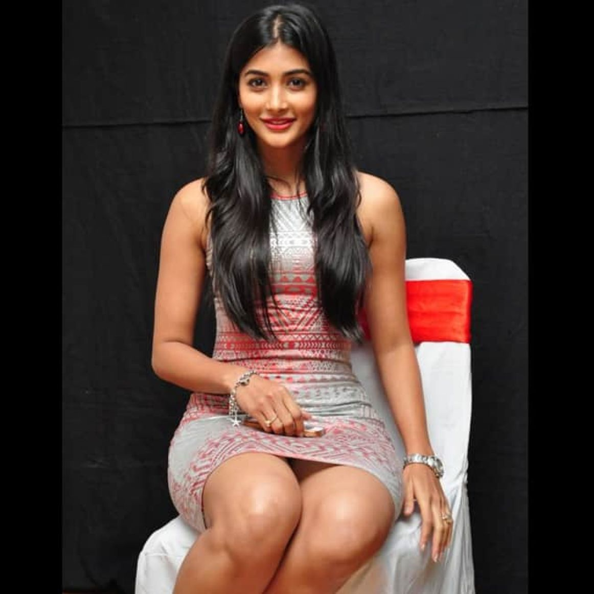 Pooja Hegde looks hot in black and white picture   Pooja Hegde hot & sexy  pictures   Celebs Photo Gallery   India.com Photogallery