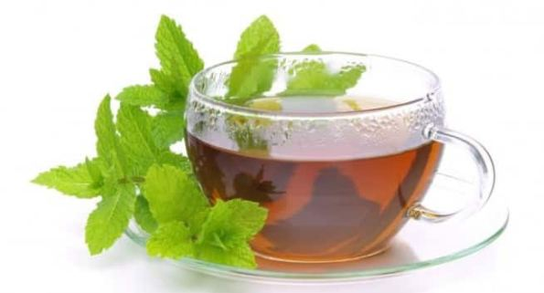 Image result for Peppermint tea images