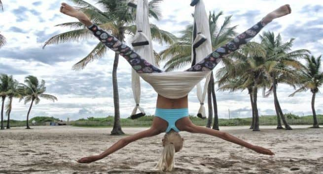 Here's all you need to know about aerial yoga | TheHealthSite.com