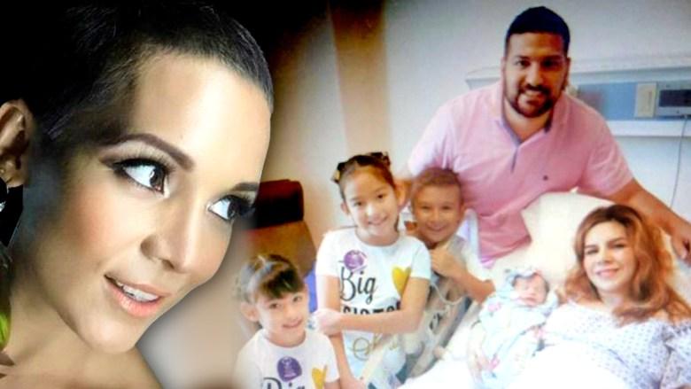 Nace la hija que Karla Panini y el viudo de Karla Luna concibieron ...