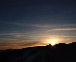 高見石 初日の出