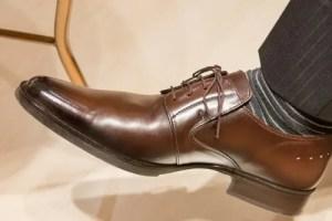 革靴 傷 補修