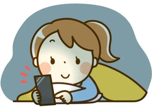 寝る前 スマホ 影響