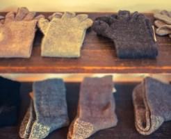 靴下 穴 対策 補修 防止