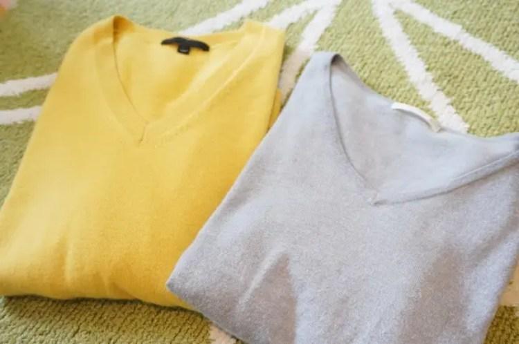 セーター 何回着たら洗う