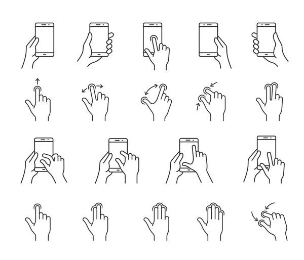 Mobile Interface Icons — Stock Vector © frbird #15443727