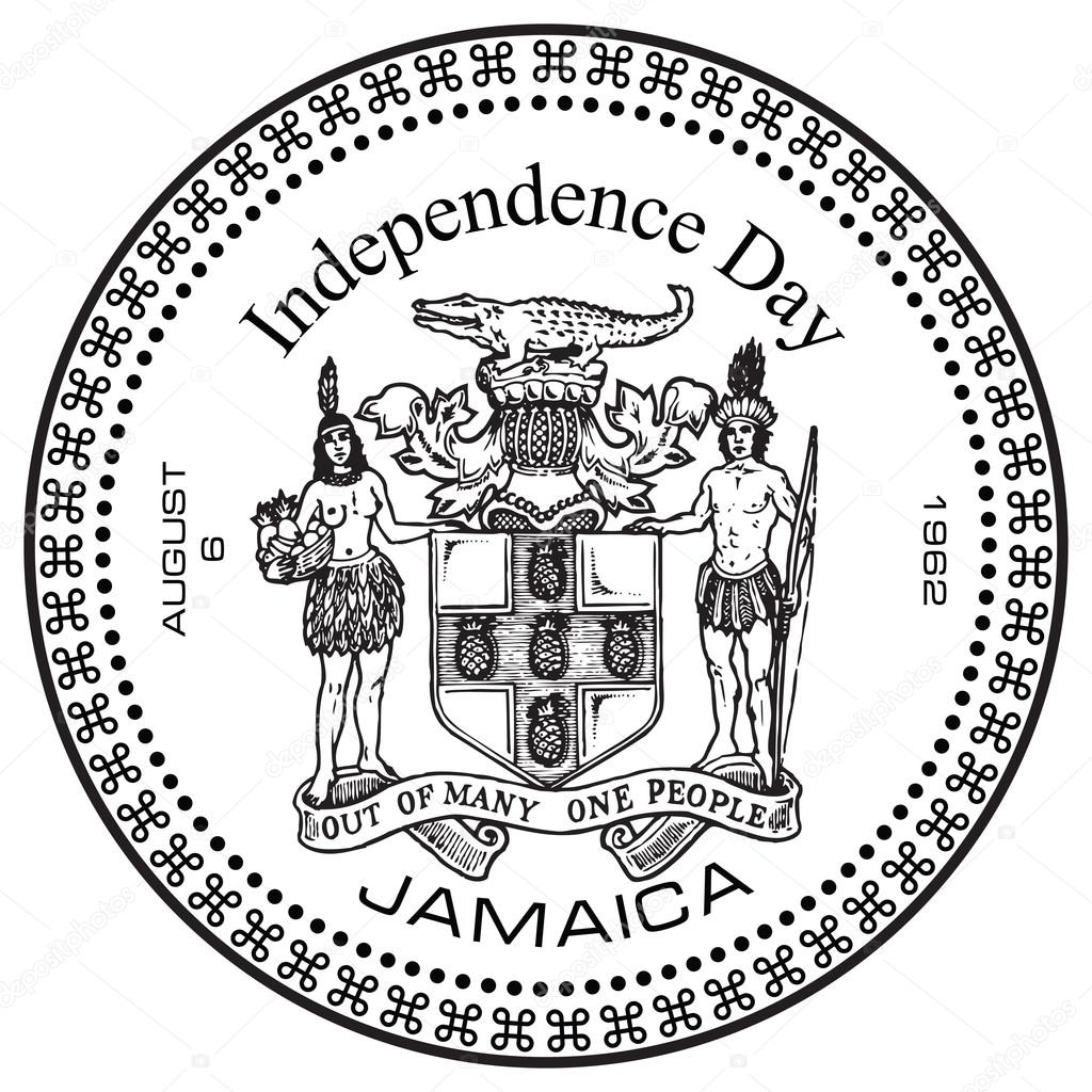 Independence Day Jamaica — Stock Vector © VIPDesignUSA