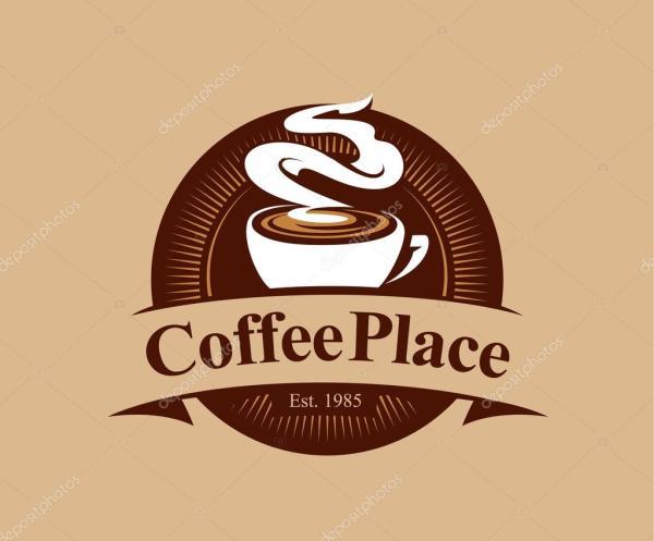 Logotipo Da Cafeteria Vetor De Stock Vecster #68221973