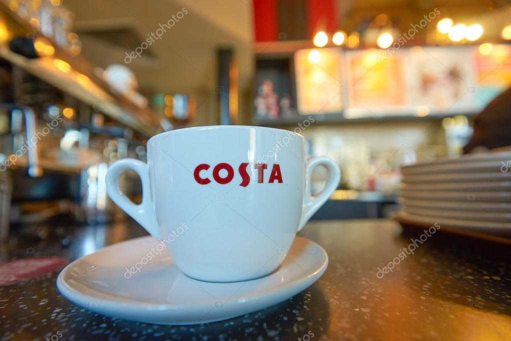 cup in costa coffee