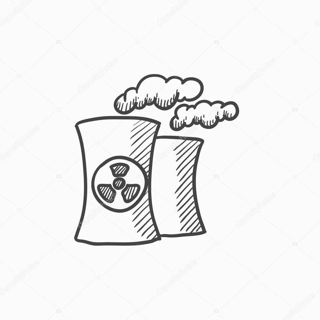 Imagenes Dibujo De Una Planta Nuclear