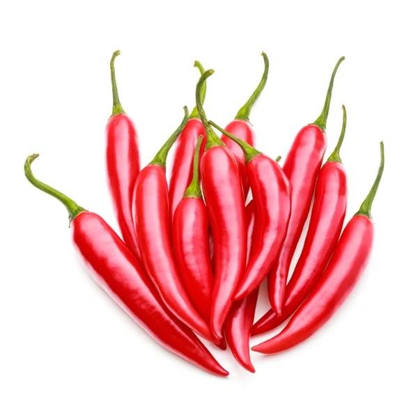 干的紅辣椒或卡宴辣椒 — 圖庫照片©natika#146557049
