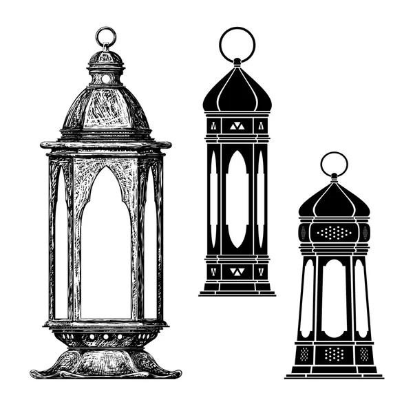 Ramadan lantern vector — Stock Vector © tan_tan #109985400
