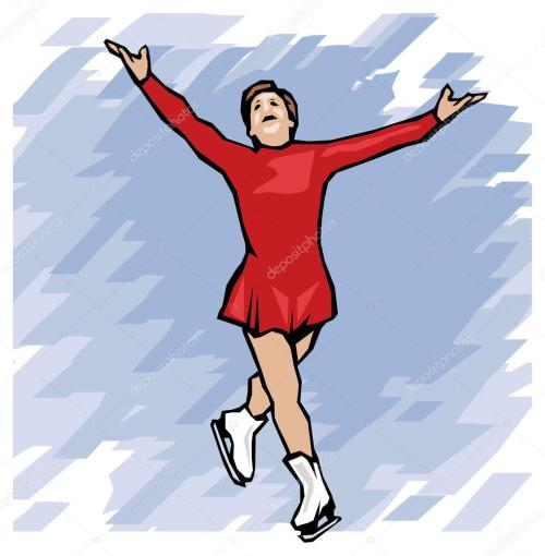 small resolution of figure skating winter olympic games vector illustration vector by digital clipart