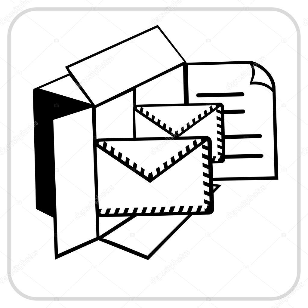 Briefe In Den Briefkasten