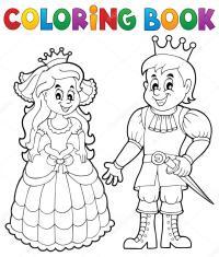 Bella Disegni Da Colorare Corona Principessa