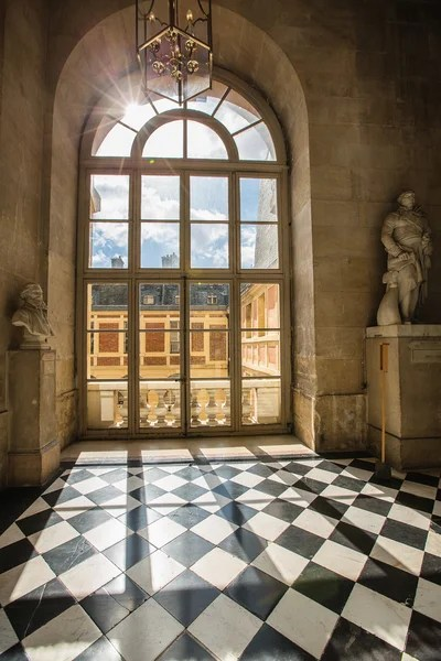 Luxury Palace Glass Windows In Versailles Palace France