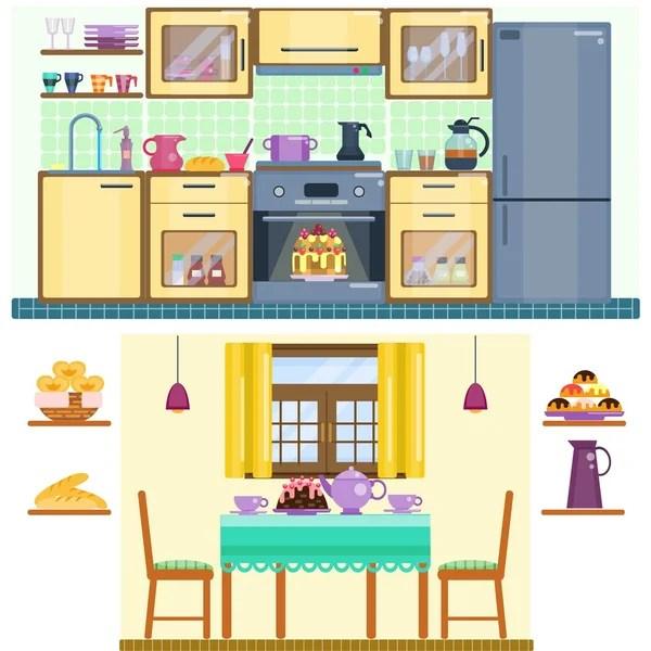 Vectores de stock de Comedor ilustraciones de Comedor sin royalties  Depositphotos