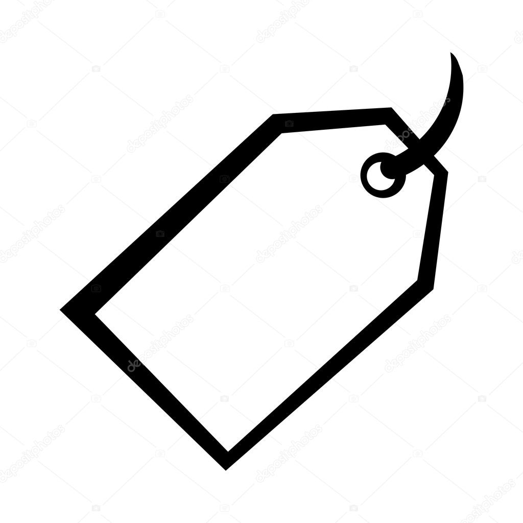 Price Tag Sale Vector Icon