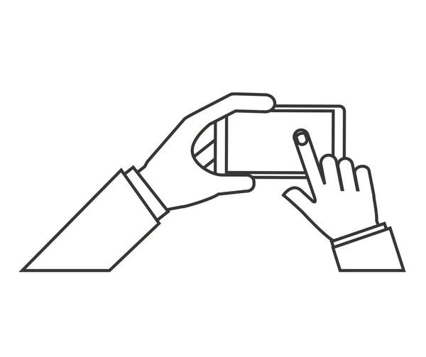 Circuit Breaker Vector Illustration — Stock Vector
