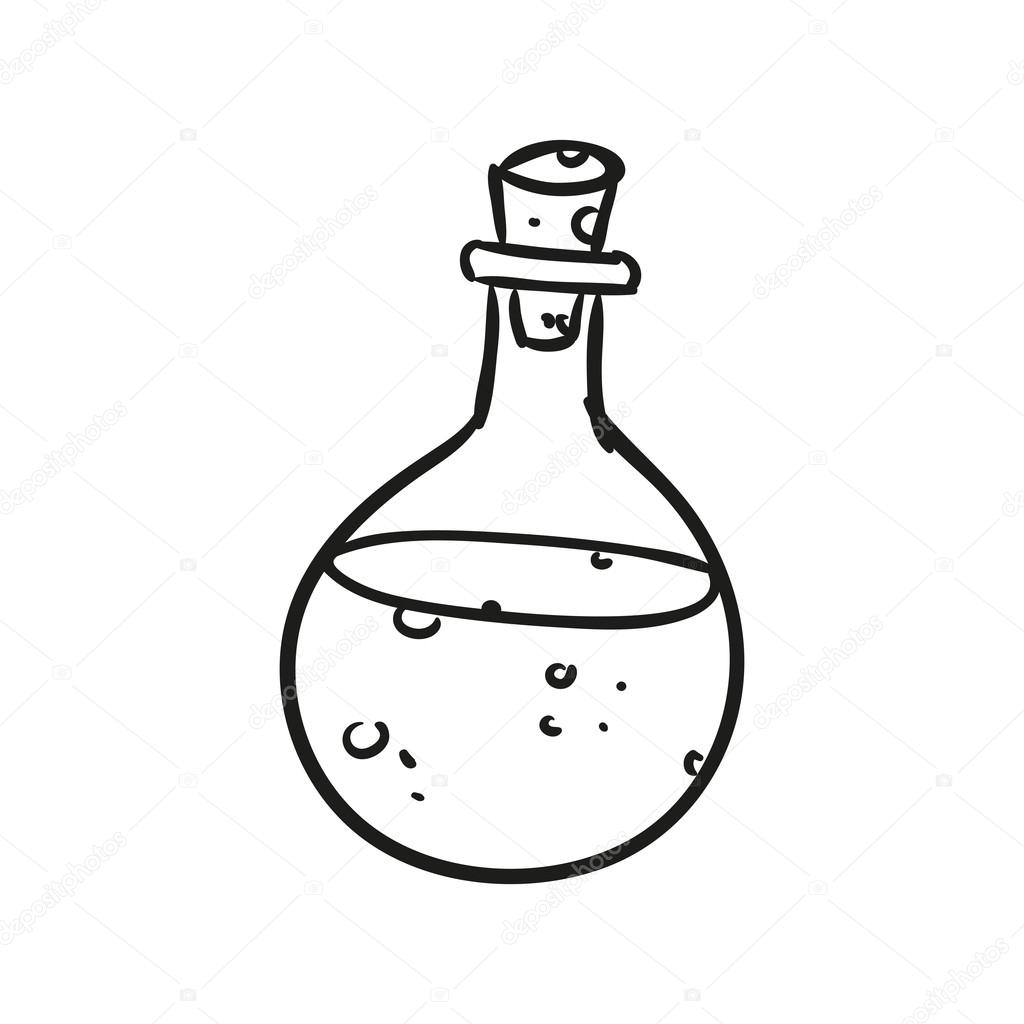 Vector Potion Doodle