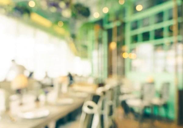 kitchen tops wood rustic island ideas 木桌和模糊的餐厅背景 — 图库照片©prapass#52896365
