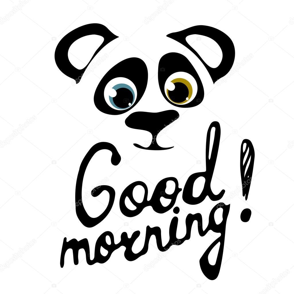 Good Morning Panda