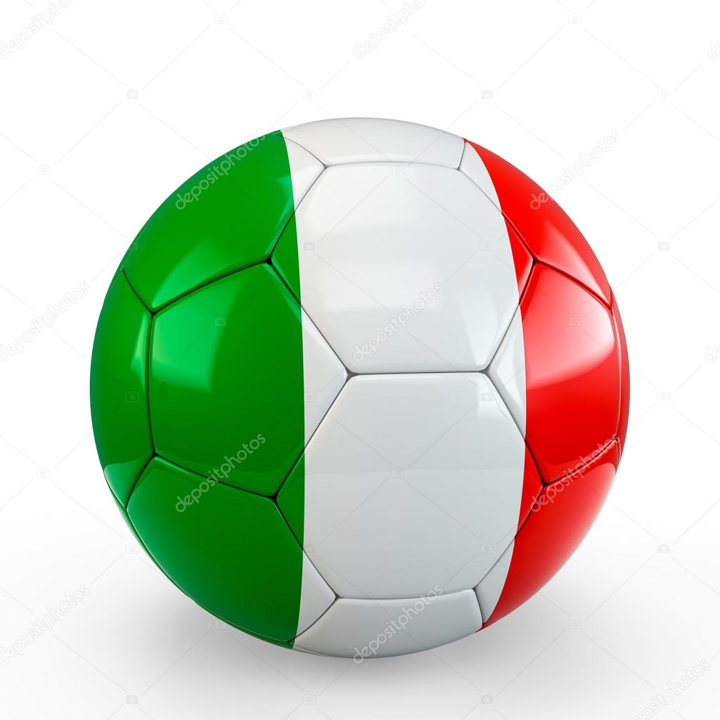 soccer ball covered with