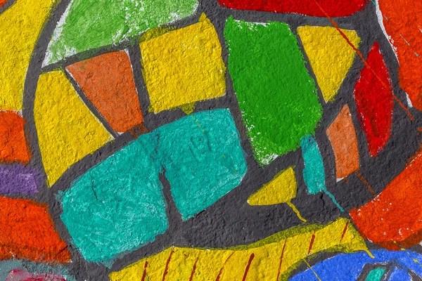 Vecchio astratto texture o sfondo colorato mosaico sul pavimento di mattonelle di ceramica rotte  Foto Stock  yulyao 144793945