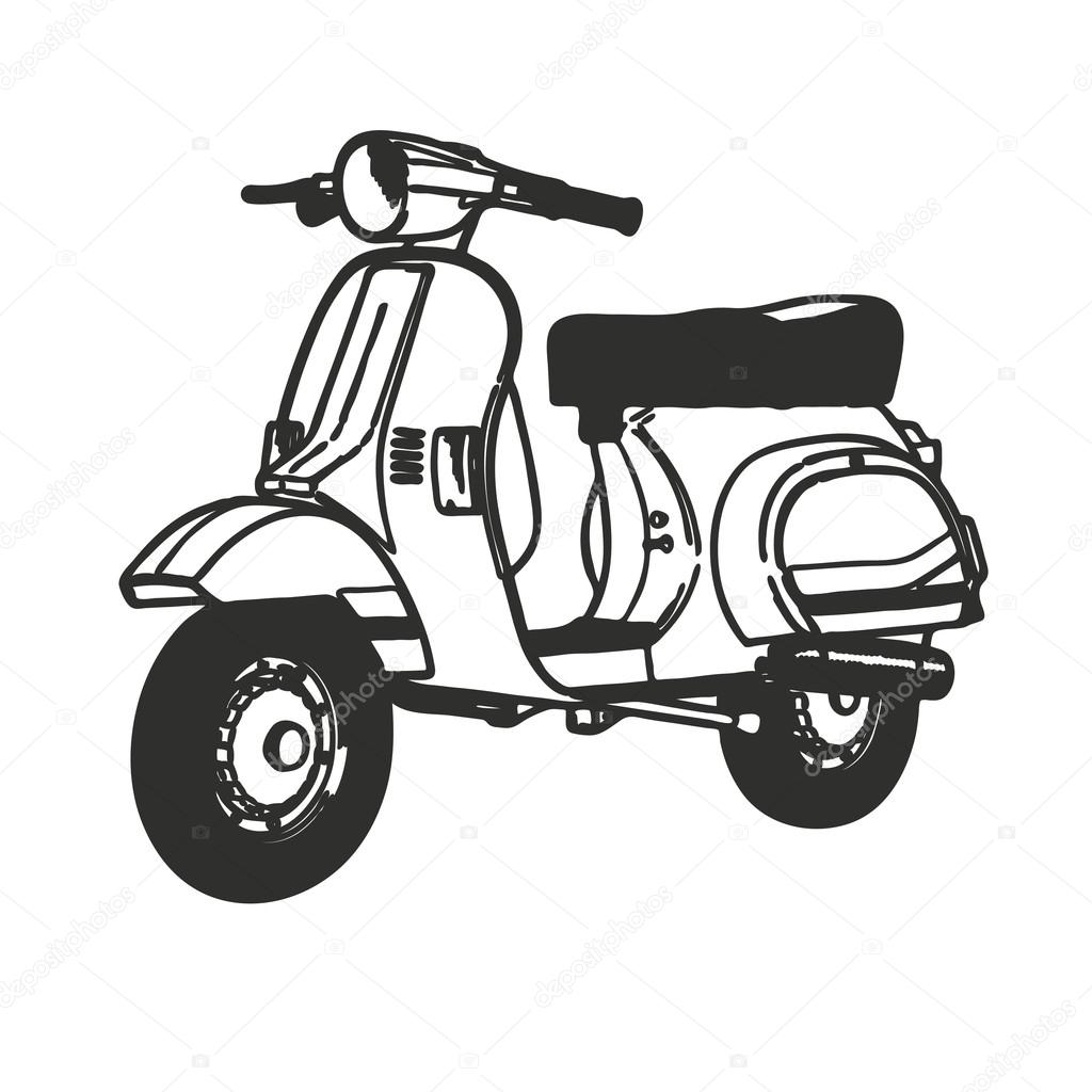 Vintage Moped Mod