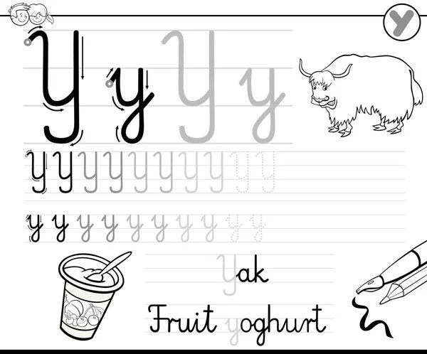 Black and white worksheet for children with exercise for