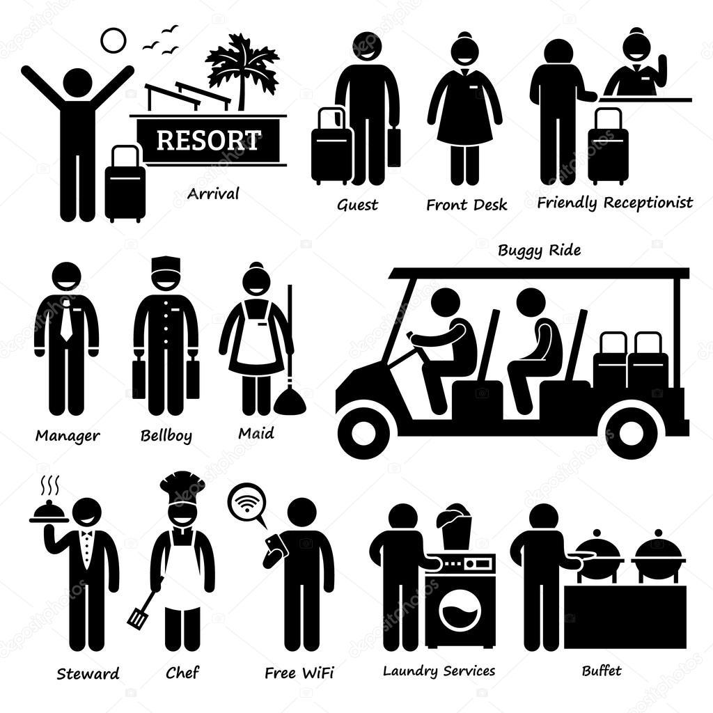 Estância Villa Hotel turista trabalhador e serviços Stick